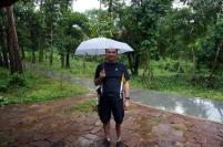 Bon la pluie qui commence