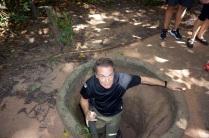 Je n'aurais pas pu entrer dans les tunnels (meme les vietnamiens de maintenant sont trop gros)