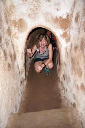 Une ballade dans le tunnel format touriste (20 m de long)