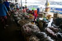 Arrêt au marché local