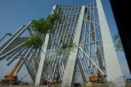 Porte vers la bais d'Halong en construction
