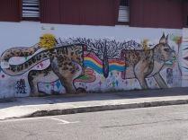 Une muralle à San José