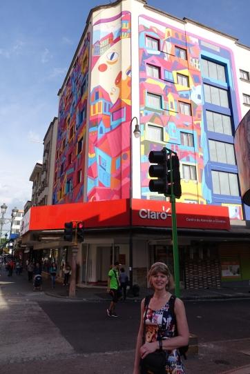Des immeubles colorés