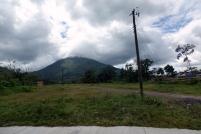 Le volcan est majoritairement du temps couvert