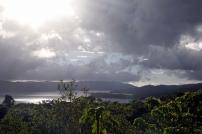 De l'autre côté, c'est le lac Arenal