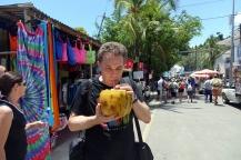 Une noix de coco pour se refroidir