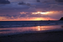 Un autre coucher de soleil... une journée bien remplie