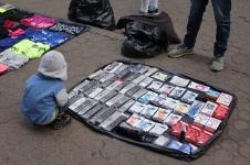 Je ne sais pas pourquoi des télécommandes dans la rue