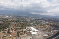 Vue des airs de San José