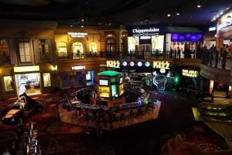 Le casino Rio avec un magasin de Kiss et la salle de spectacle des Chippendales. Spectacles, en passant qui n est pas sur ma liste.