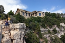 La vue du Lodge
