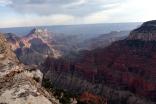Aucune photo ne peut rendre justice aux merveilleux paysages observés