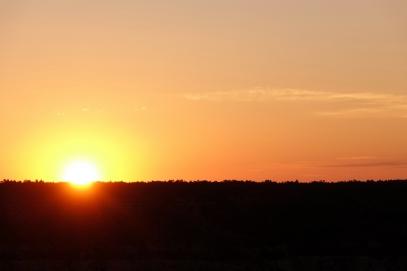 Un merveilleux lever de soleil