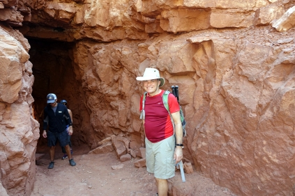 rrivé au tunnel, après mure reflexion, on remonte