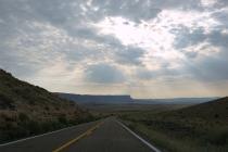 Des routes interminables et des paysages suréaliste
