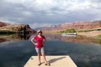 Le départ du rafting sur la riviere Colorado, ça me donne le gout d'en faire
