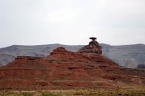 Le célèbre roc Mexican Hat. Je me demande comment ils appeleront la ville si jamais il tombait.