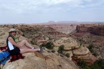 Une pause pour admirer le paysage