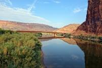 La rivière Colorado est comme un miroir