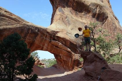 Il y a une roche faut que j'y monte