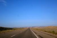 Des routes à perte de vue