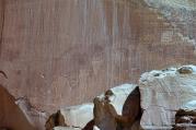 Des petroglyphes ont été gravés dans la pierre