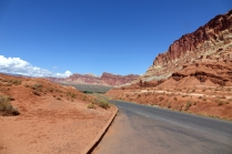 La route panoramique est exceptionelle