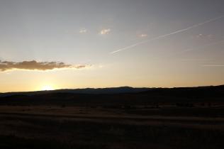 Le soleil se couche sur Richfield après une journée bien remplie