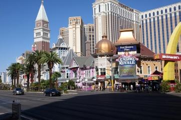 Une vue sur des casinos