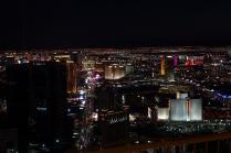 Une vue de la Strip la nuit