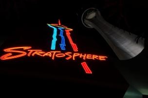 La Stratosphère, la nuit