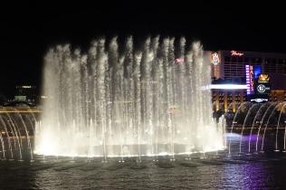 Les fontaines du Bellagio nous ont impressionné cette année