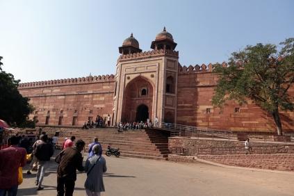 L'entrée de la grande Mosquée
