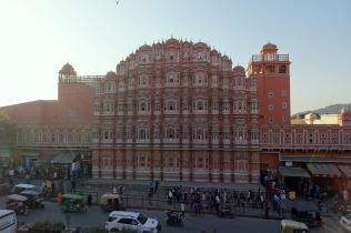 Le palais des vents, spécifique à Jaipur