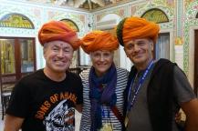 Fier avec leurs turbans