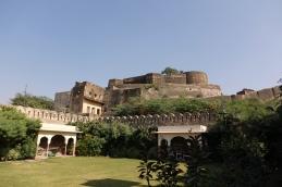 La vue du fort à partir du Haveli