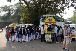 Un autobus d'écolière