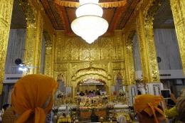 La salle de prière, une photo à la sauvette
