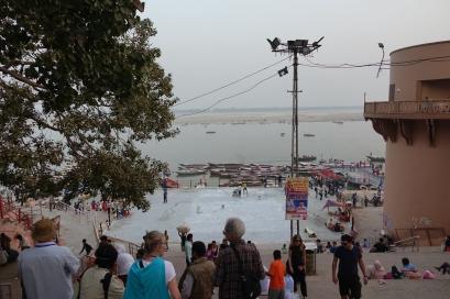 Nous voilà sur le Ghat
