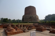 Stupa qui inclut les reliques de Bouddha