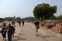 Les vestiges de Sarnath