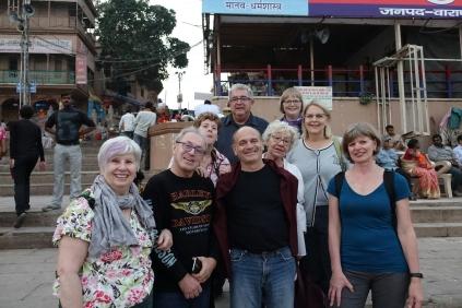 Une photo de notre groupe de téméraire sur le Gath