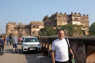 Nous nous dirigeons vers le Palais de Jahangir (Jahangir Mahal)