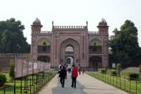 En direction du petit Taj
