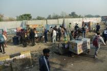 La vie de rue de Delhi