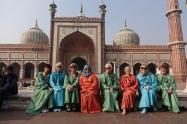 Une photo de nos dames multicolores