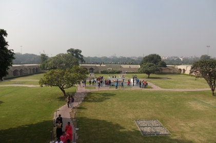 Une vue du Cénotaphe de Gandhi
