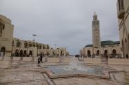 Visite de la Mosquée Hassan-II