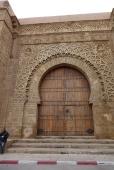 L'une des portes de la kasbah des Oudaya