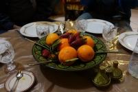 Après la tajine, les fruits.